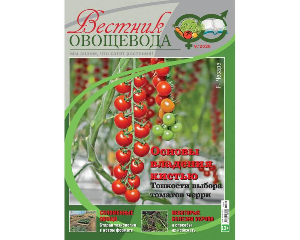 Вестник овощевода № 09/2020